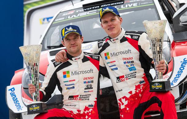Estonianul Ott Tanak câștigă Raliul Suediei: pilotul Toyota trece pe prima poziție în clasamentul general - Poza 2