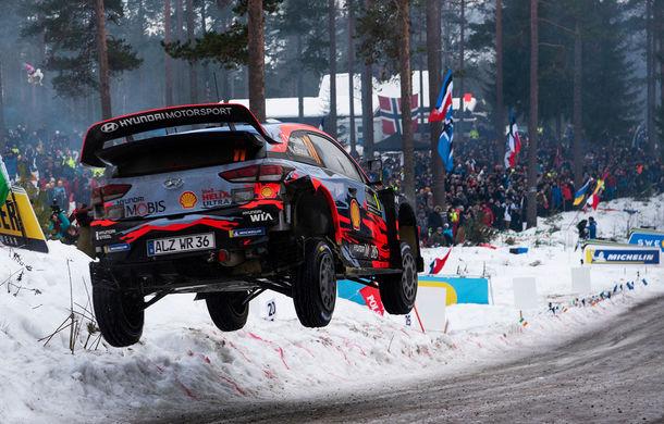 Estonianul Ott Tanak câștigă Raliul Suediei: pilotul Toyota trece pe prima poziție în clasamentul general - Poza 4