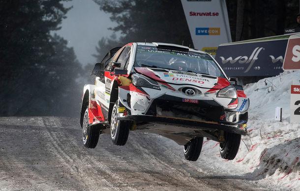 Estonianul Ott Tanak câștigă Raliul Suediei: pilotul Toyota trece pe prima poziție în clasamentul general - Poza 6