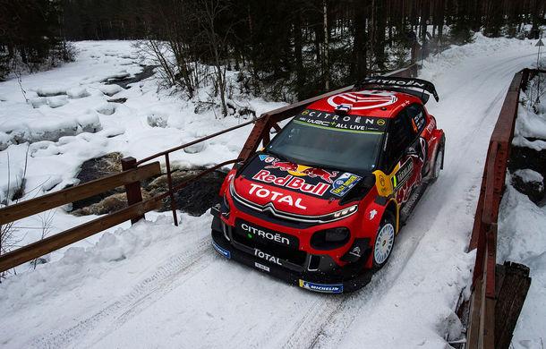 Estonianul Ott Tanak câștigă Raliul Suediei: pilotul Toyota trece pe prima poziție în clasamentul general - Poza 3