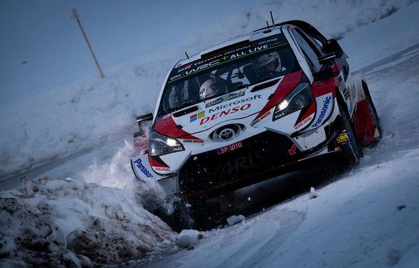 Estonianul Ott Tanak câștigă Raliul Suediei: pilotul Toyota trece pe prima poziție în clasamentul general - Poza 1