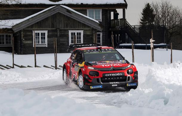 Estonianul Ott Tanak câștigă Raliul Suediei: pilotul Toyota trece pe prima poziție în clasamentul general - Poza 5