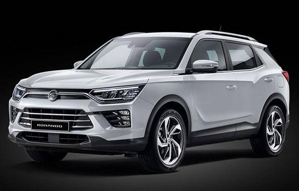 Primele imagini cu viitoarea generație SsangYong Korando: SUV-ul producătorului sud-coreean va fi expus în premieră la Geneva - Poza 2