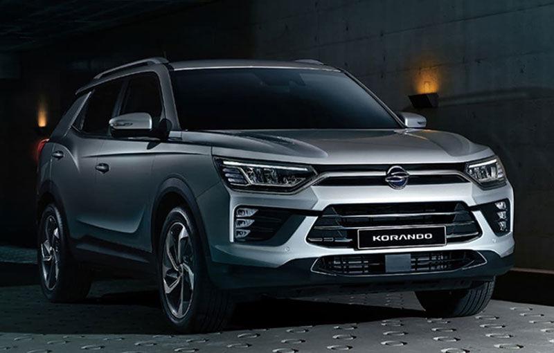 Primele imagini cu viitoarea generație SsangYong Korando: SUV-ul producătorului sud-coreean va fi expus în premieră la Geneva - Poza 1