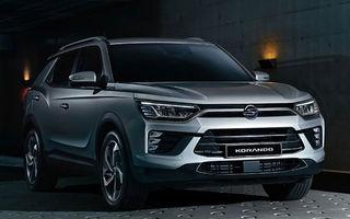 Primele imagini cu viitoarea generație SsangYong Korando: SUV-ul producătorului sud-coreean va fi expus în premieră la Geneva