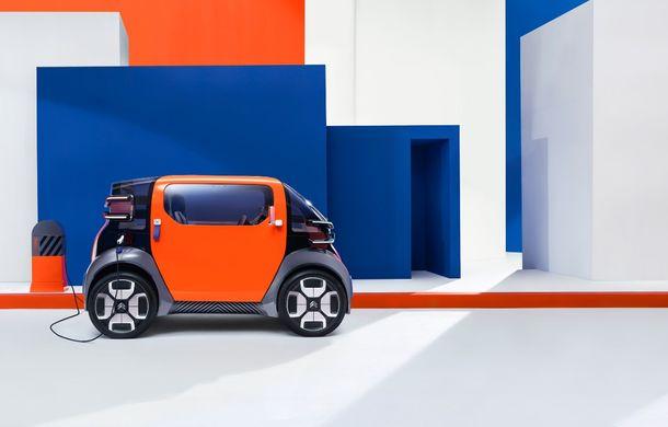 Citroen Ami One vine la Geneva: conceptul electric are autonomie de 100 km și poate fi condus fără permis - Poza 4