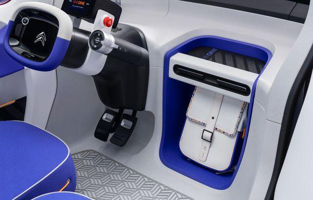 Citroen Ami One vine la Geneva: conceptul electric are autonomie de 100 km și poate fi condus fără permis - Poza 5
