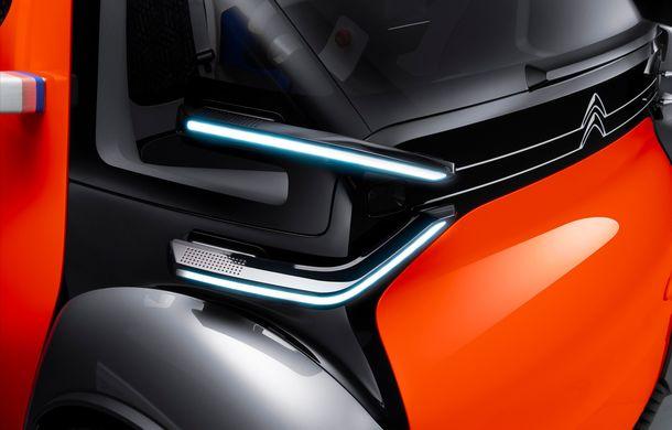 Citroen Ami One vine la Geneva: conceptul electric are autonomie de 100 km și poate fi condus fără permis - Poza 2