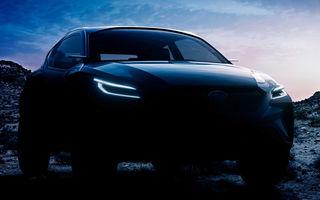 Prima imagine teaser cu viitorul Subaru Viziv Adrenaline: conceptul producătorului nipon debutează la Geneva