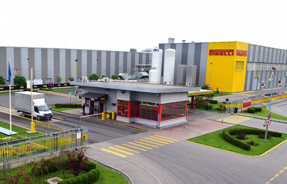Pirelli va crește capacitatea de producție de la Slatina cu 50%: italienii vor produce anual 15 milioane de anvelope - Poza 1