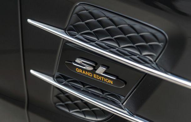 Mercedes-Benz lansează versiunea specială SL Grand Edition: accesorii AMG și suspensie sport pentru roadsterul german - Poza 9