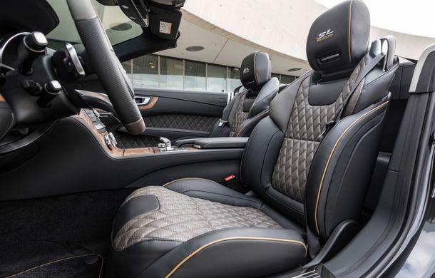 Mercedes-Benz lansează versiunea specială SL Grand Edition: accesorii AMG și suspensie sport pentru roadsterul german - Poza 10