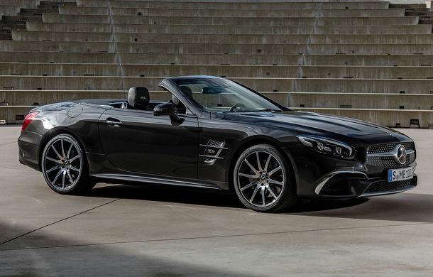 Mercedes-Benz lansează versiunea specială SL Grand Edition: accesorii AMG și suspensie sport pentru roadsterul german - Poza 1