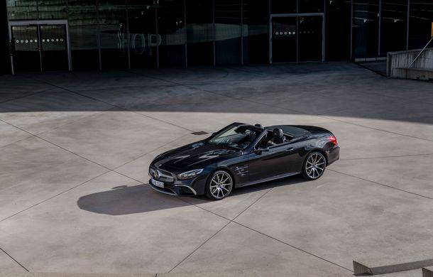Mercedes-Benz lansează versiunea specială SL Grand Edition: accesorii AMG și suspensie sport pentru roadsterul german - Poza 5