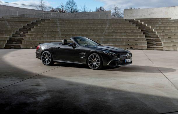 Mercedes-Benz lansează versiunea specială SL Grand Edition: accesorii AMG și suspensie sport pentru roadsterul german - Poza 3
