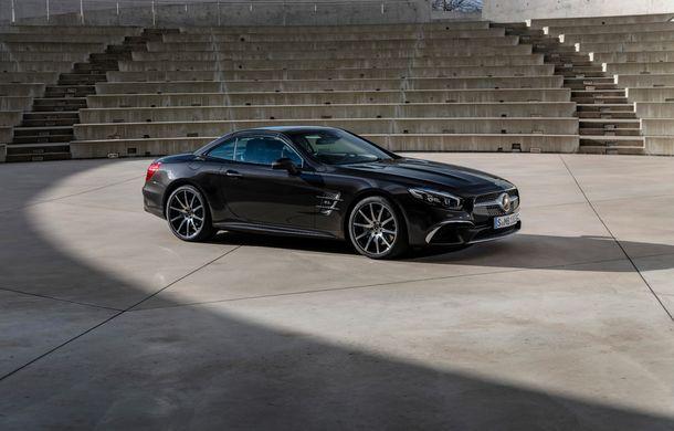 Mercedes-Benz lansează versiunea specială SL Grand Edition: accesorii AMG și suspensie sport pentru roadsterul german - Poza 2