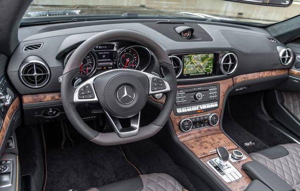 Mercedes-Benz lansează versiunea specială SL Grand Edition: accesorii AMG și suspensie sport pentru roadsterul german - Poza 11