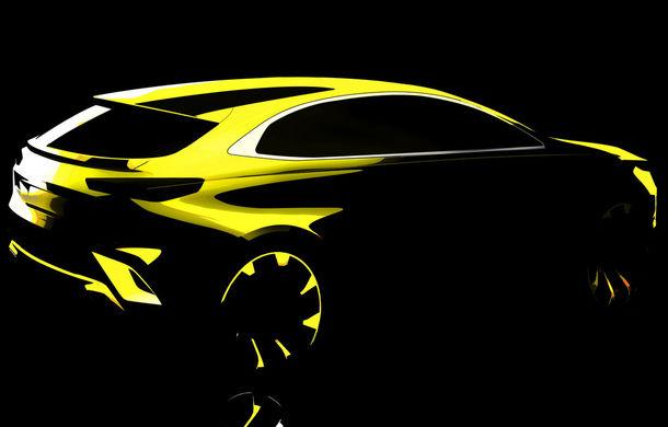 Prima schiță cu SUV-ul compact Kia Xceed: noul model ar putea avea versiune plug-in hybrid de peste 200 de cai putere - Poza 1