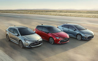 Noua generație Toyota Corolla este disponibilă și în România: sedanul pornește de la 17.750 de euro, iar hatchback-ul de la 18.300 de euro