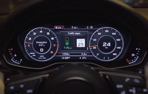 Audi lansează un sistem care recomandă viteza optimă pentru a evita staționarea la semafoare - Poza 3