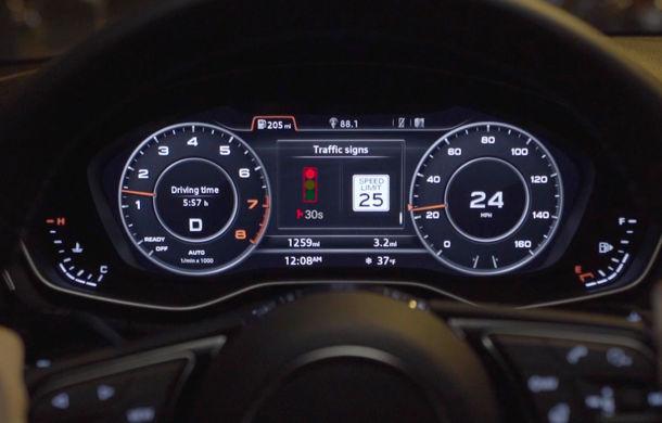 Audi lansează un sistem care recomandă viteza optimă pentru a evita staționarea la semafoare - Poza 2
