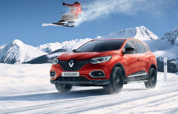Renault Kadjar primește o ediție specială în Franța: parteneriat cu Școala Franceză de Schi - Poza 1