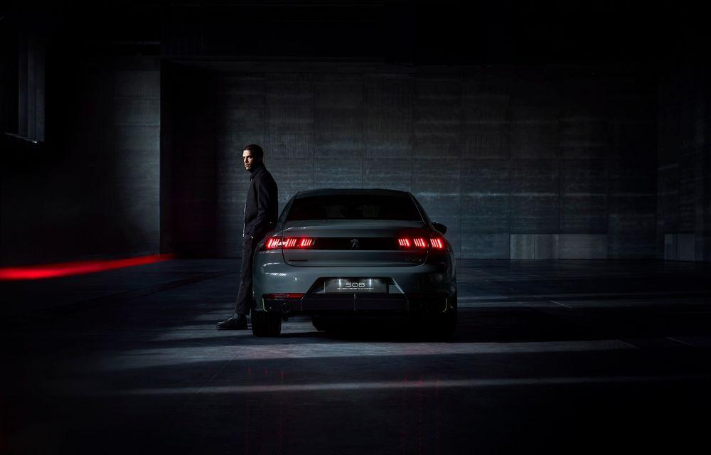 Peugeot prezintă conceptul 508 Sport Engineered: tracțiune integrală, autonomie de 50 km în modul electric și accelerație 0-100 km/h în 4.3 secunde: debut la Geneva - Poza 8
