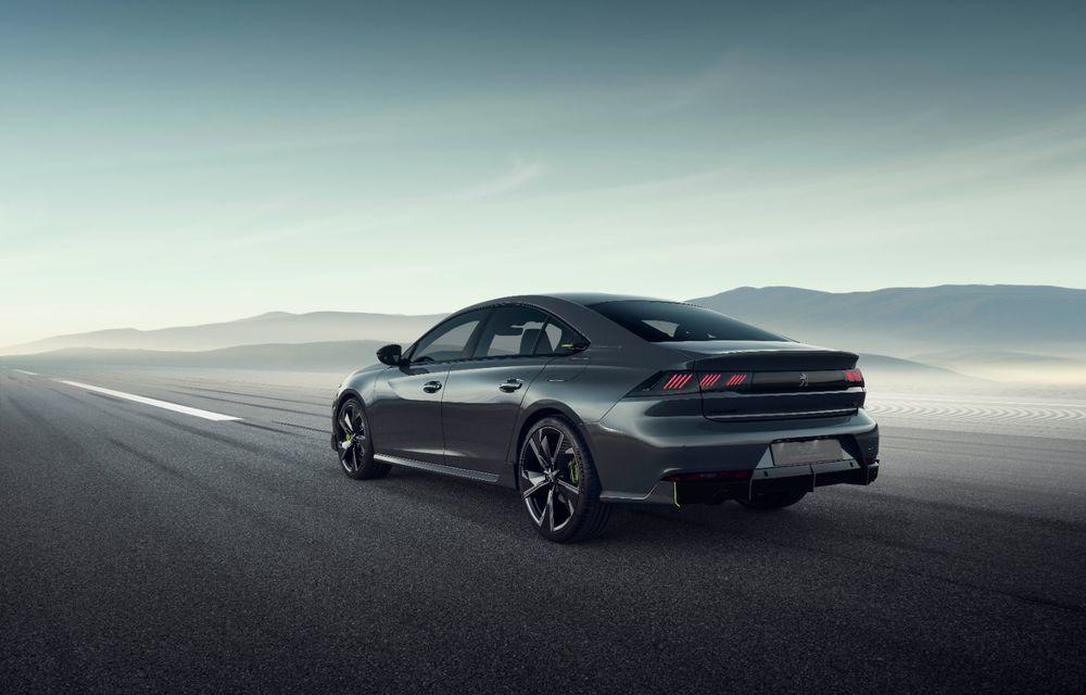 Peugeot prezintă conceptul 508 Sport Engineered: tracțiune integrală, autonomie de 50 km în modul electric și accelerație 0-100 km/h în 4.3 secunde: debut la Geneva - Poza 20
