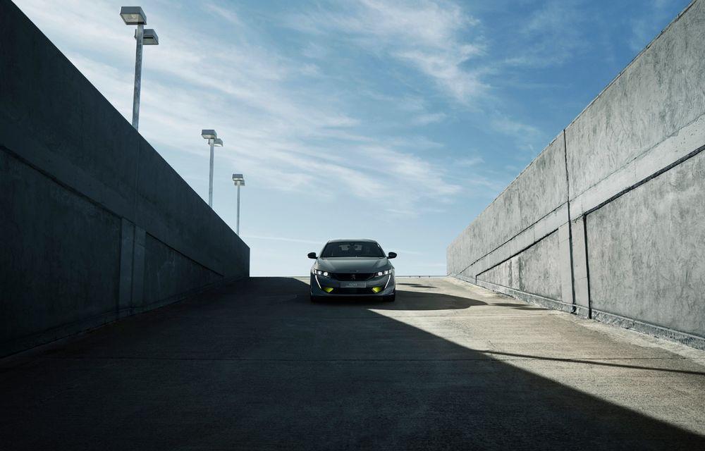 Peugeot prezintă conceptul 508 Sport Engineered: tracțiune integrală, autonomie de 50 km în modul electric și accelerație 0-100 km/h în 4.3 secunde: debut la Geneva - Poza 30