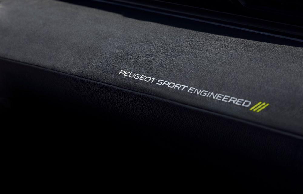 Peugeot prezintă conceptul 508 Sport Engineered: tracțiune integrală, autonomie de 50 km în modul electric și accelerație 0-100 km/h în 4.3 secunde: debut la Geneva - Poza 55