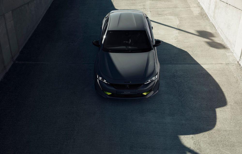 Peugeot prezintă conceptul 508 Sport Engineered: tracțiune integrală, autonomie de 50 km în modul electric și accelerație 0-100 km/h în 4.3 secunde: debut la Geneva - Poza 31