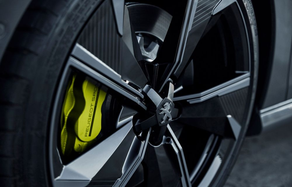 Peugeot prezintă conceptul 508 Sport Engineered: tracțiune integrală, autonomie de 50 km în modul electric și accelerație 0-100 km/h în 4.3 secunde: debut la Geneva - Poza 42