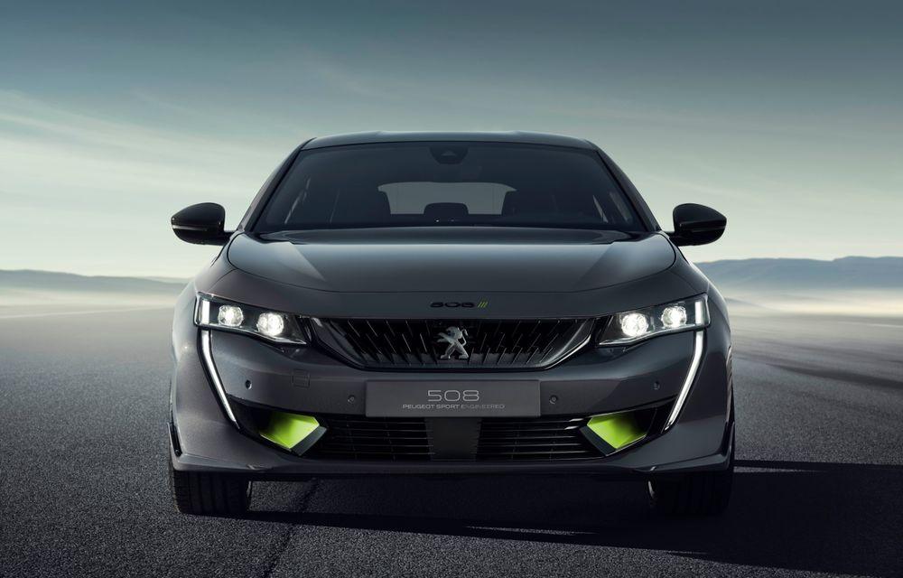 Peugeot prezintă conceptul 508 Sport Engineered: tracțiune integrală, autonomie de 50 km în modul electric și accelerație 0-100 km/h în 4.3 secunde: debut la Geneva - Poza 18