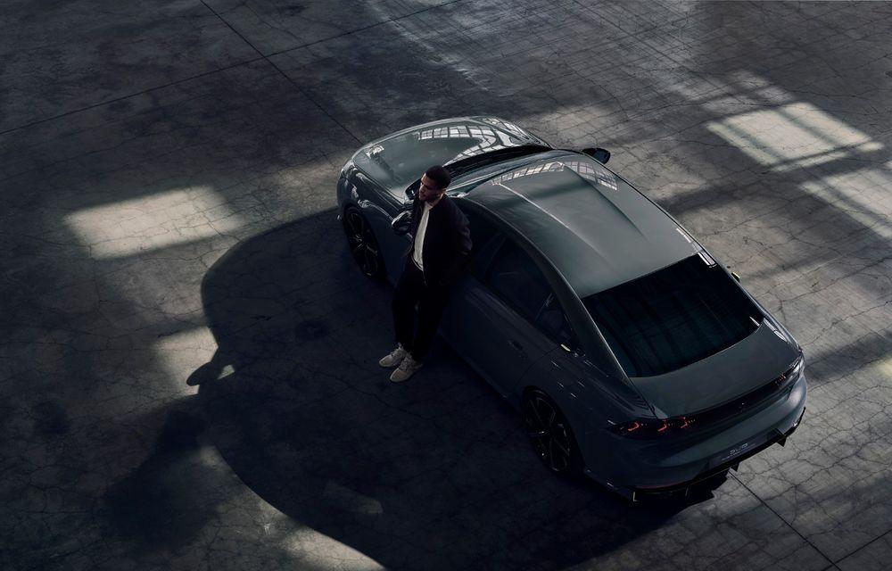 Peugeot prezintă conceptul 508 Sport Engineered: tracțiune integrală, autonomie de 50 km în modul electric și accelerație 0-100 km/h în 4.3 secunde: debut la Geneva - Poza 4