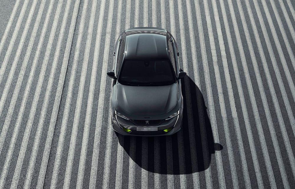 Peugeot prezintă conceptul 508 Sport Engineered: tracțiune integrală, autonomie de 50 km în modul electric și accelerație 0-100 km/h în 4.3 secunde: debut la Geneva - Poza 23