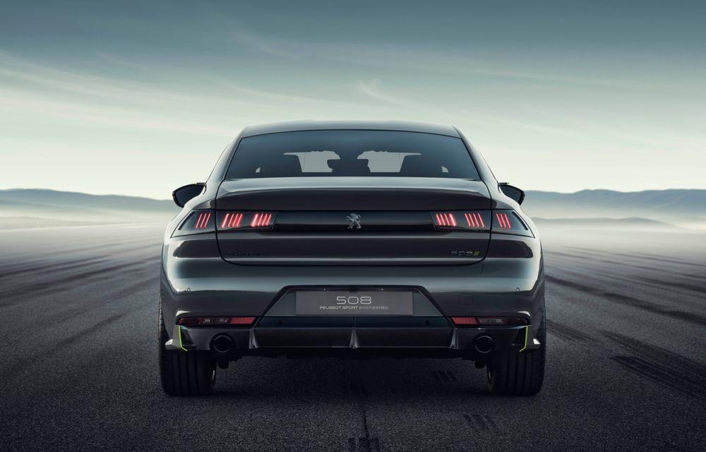Peugeot prezintă conceptul 508 Sport Engineered: tracțiune integrală, autonomie de 50 km în modul electric și accelerație 0-100 km/h în 4.3 secunde: debut la Geneva - Poza 19