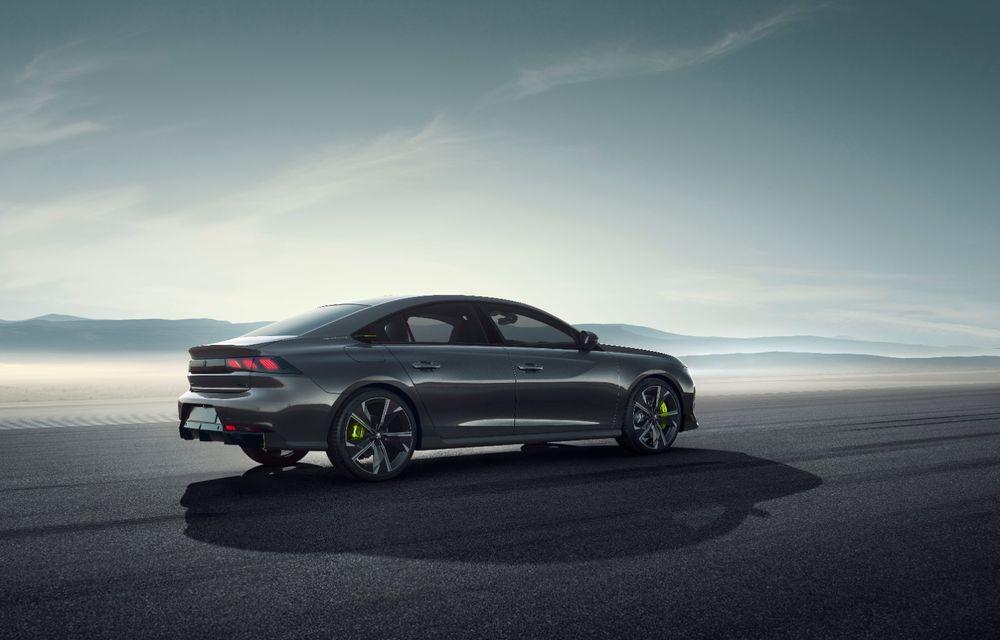 Peugeot prezintă conceptul 508 Sport Engineered: tracțiune integrală, autonomie de 50 km în modul electric și accelerație 0-100 km/h în 4.3 secunde: debut la Geneva - Poza 21