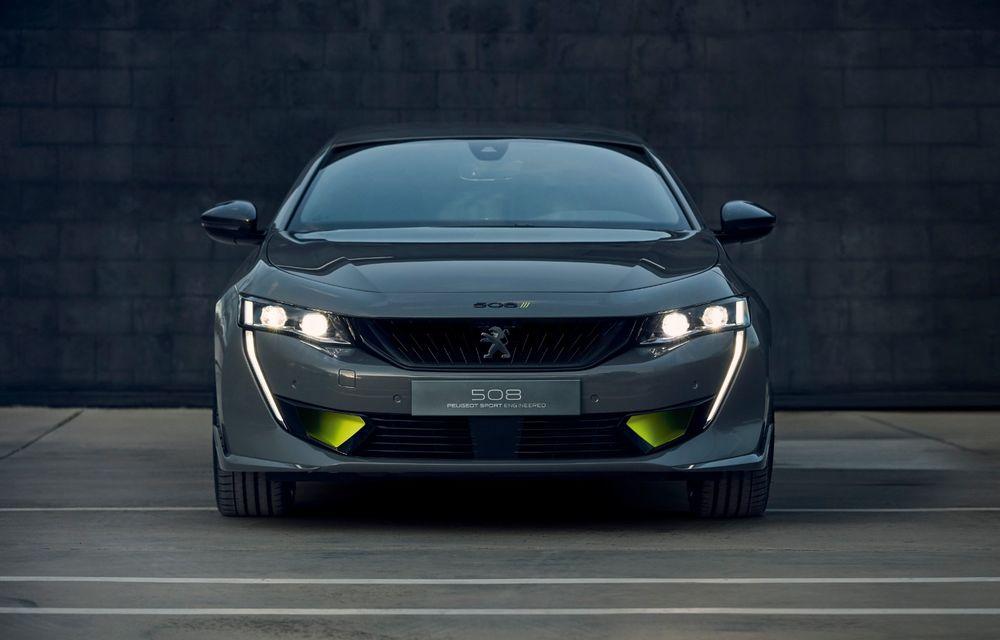 Peugeot prezintă conceptul 508 Sport Engineered: tracțiune integrală, autonomie de 50 km în modul electric și accelerație 0-100 km/h în 4.3 secunde: debut la Geneva - Poza 16