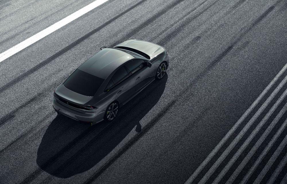 Peugeot prezintă conceptul 508 Sport Engineered: tracțiune integrală, autonomie de 50 km în modul electric și accelerație 0-100 km/h în 4.3 secunde: debut la Geneva - Poza 27