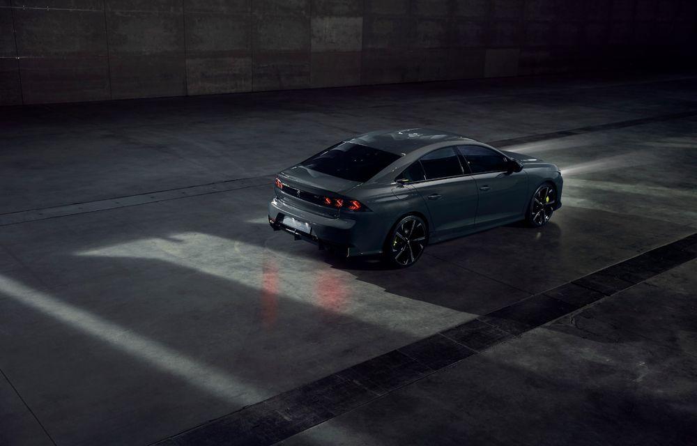 Peugeot prezintă conceptul 508 Sport Engineered: tracțiune integrală, autonomie de 50 km în modul electric și accelerație 0-100 km/h în 4.3 secunde: debut la Geneva - Poza 10