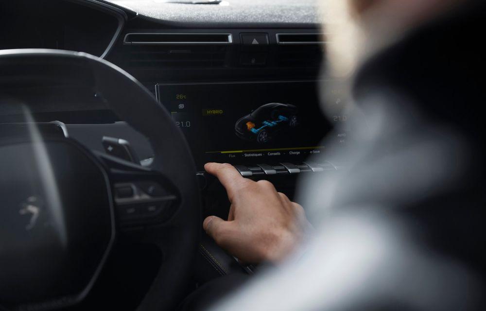Peugeot prezintă conceptul 508 Sport Engineered: tracțiune integrală, autonomie de 50 km în modul electric și accelerație 0-100 km/h în 4.3 secunde: debut la Geneva - Poza 50