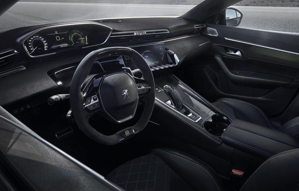 Peugeot prezintă conceptul 508 Sport Engineered: tracțiune integrală, autonomie de 50 km în modul electric și accelerație 0-100 km/h în 4.3 secunde: debut la Geneva - Poza 11