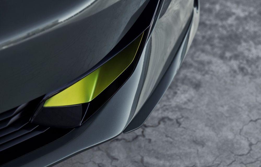 Peugeot prezintă conceptul 508 Sport Engineered: tracțiune integrală, autonomie de 50 km în modul electric și accelerație 0-100 km/h în 4.3 secunde: debut la Geneva - Poza 46
