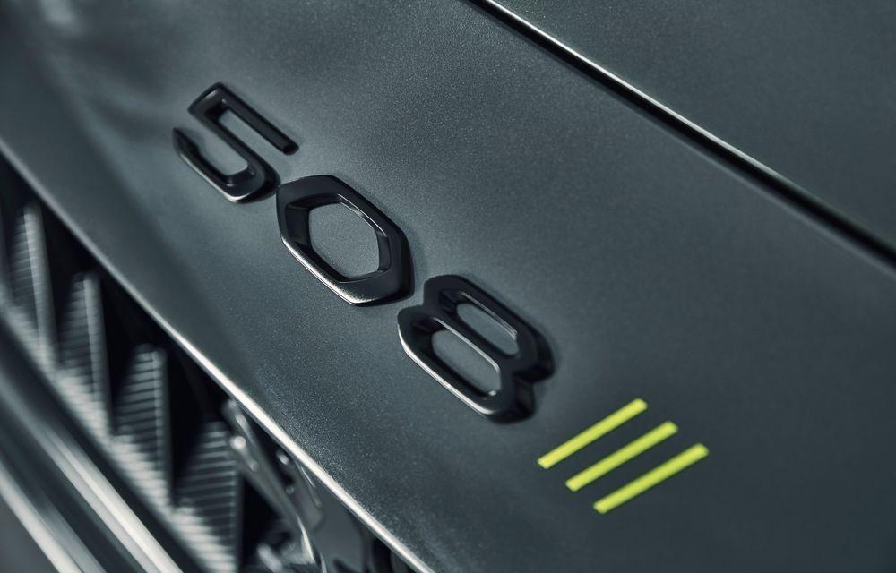 Peugeot prezintă conceptul 508 Sport Engineered: tracțiune integrală, autonomie de 50 km în modul electric și accelerație 0-100 km/h în 4.3 secunde: debut la Geneva - Poza 38