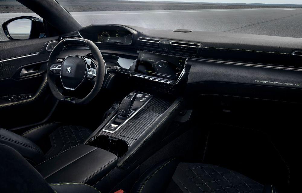 Peugeot prezintă conceptul 508 Sport Engineered: tracțiune integrală, autonomie de 50 km în modul electric și accelerație 0-100 km/h în 4.3 secunde: debut la Geneva - Poza 12