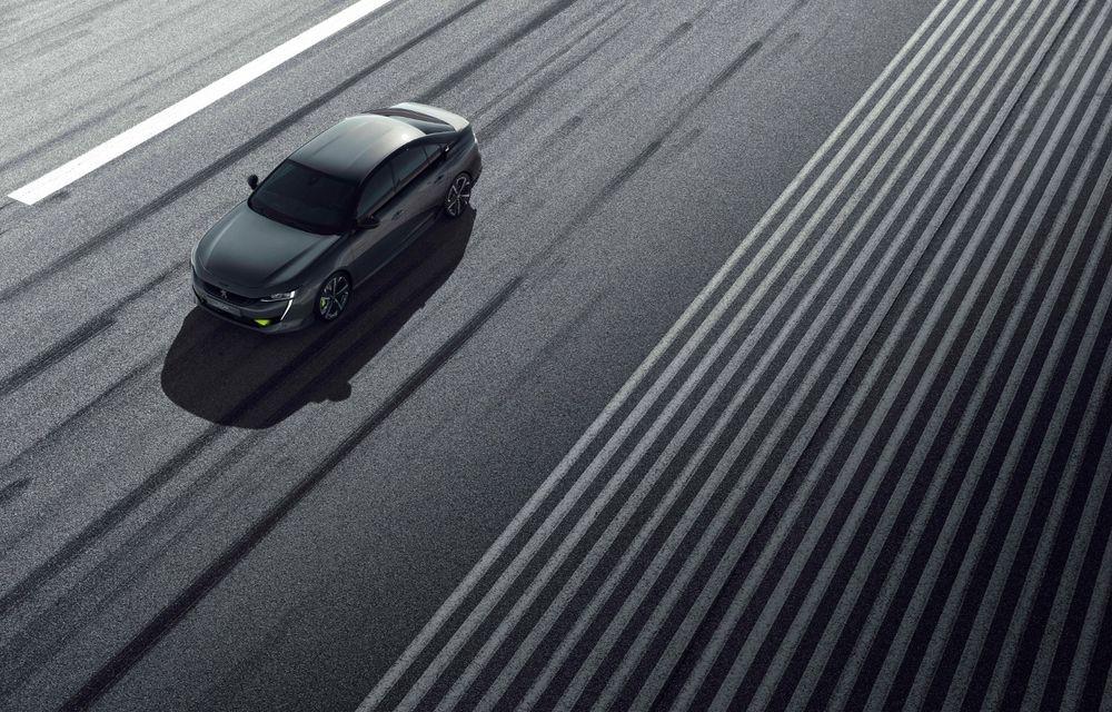 Peugeot prezintă conceptul 508 Sport Engineered: tracțiune integrală, autonomie de 50 km în modul electric și accelerație 0-100 km/h în 4.3 secunde: debut la Geneva - Poza 26