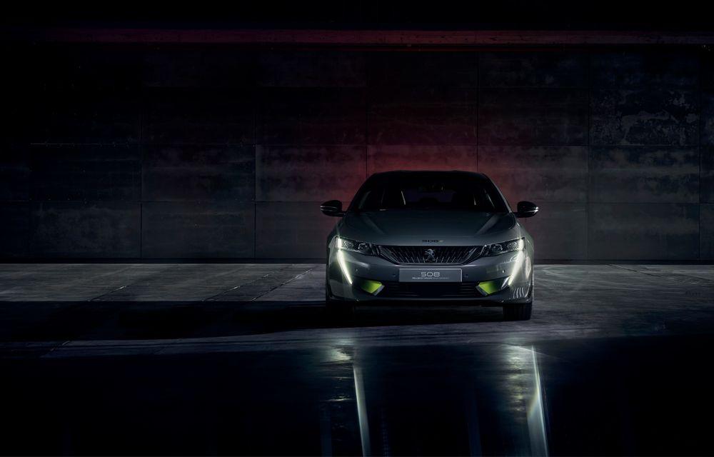 Peugeot prezintă conceptul 508 Sport Engineered: tracțiune integrală, autonomie de 50 km în modul electric și accelerație 0-100 km/h în 4.3 secunde: debut la Geneva - Poza 7