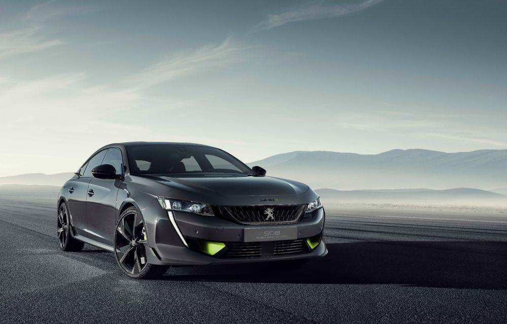 Peugeot prezintă conceptul 508 Sport Engineered: tracțiune integrală, autonomie de 50 km în modul electric și accelerație 0-100 km/h în 4.3 secunde: debut la Geneva - Poza 17