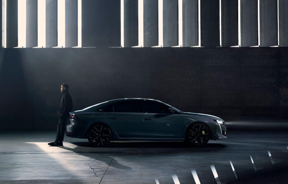 Peugeot prezintă conceptul 508 Sport Engineered: tracțiune integrală, autonomie de 50 km în modul electric și accelerație 0-100 km/h în 4.3 secunde: debut la Geneva - Poza 9