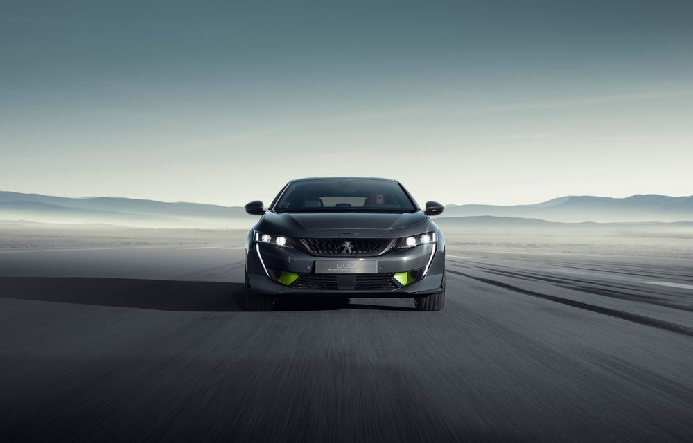 Peugeot prezintă conceptul 508 Sport Engineered: tracțiune integrală, autonomie de 50 km în modul electric și accelerație 0-100 km/h în 4.3 secunde: debut la Geneva - Poza 22